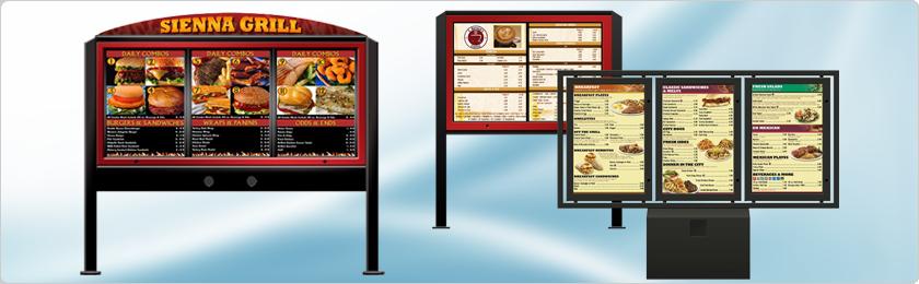 drive thru system drive thru menu boards drive thru